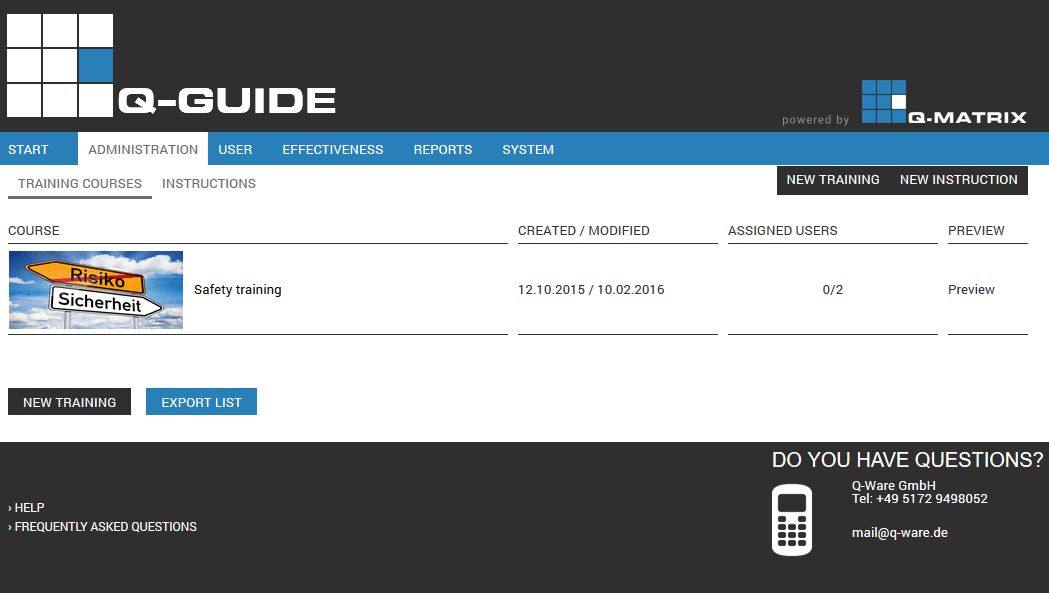 Admin - Management